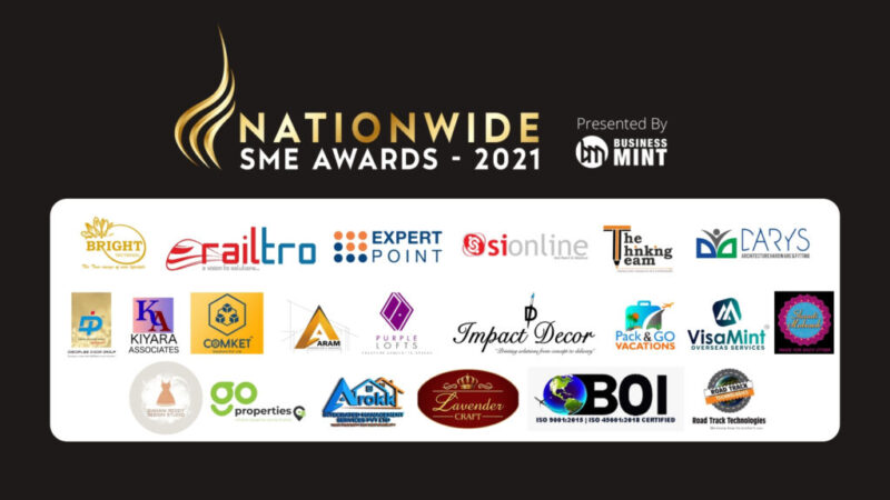 Winners of Nationwide SME Awards-2021 by Business Mint